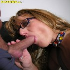 This horny mature slag really wants cock