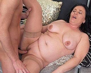 Hot and horny wife rides my dick for multiple orgasms and gets a creampie 8
