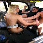 mature sex in a taxi