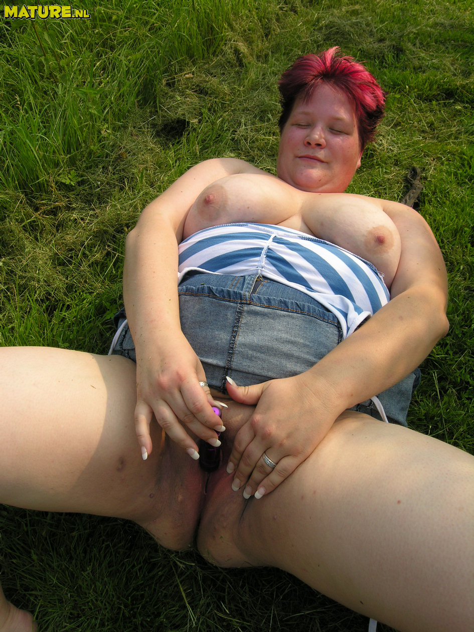 Milf wearing panties