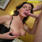Horny mature couple fucking and sucking their asses off