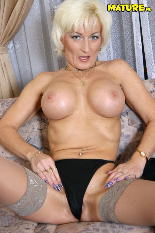 Blonde Mature Cunt 10