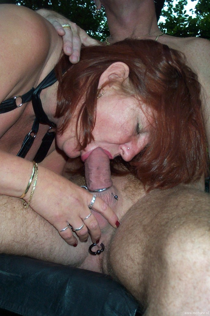 Mature couples having kinky sex