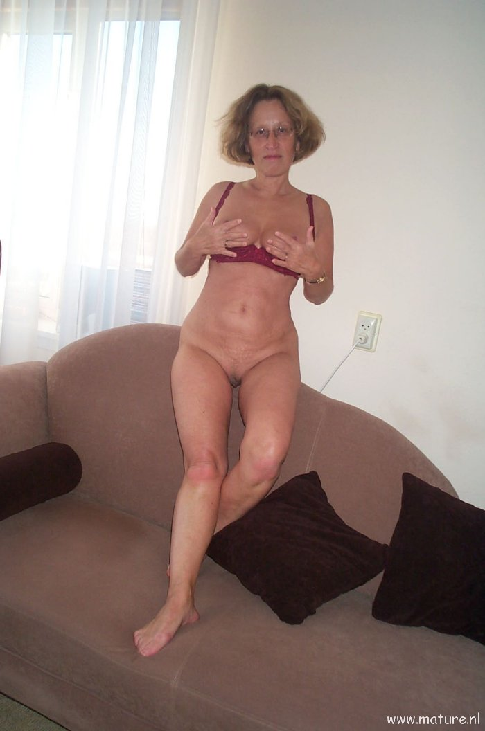 Homemade naked older women