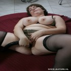 Big titted mature chunky chick at play