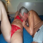 Mature amateur couple gettin' it on