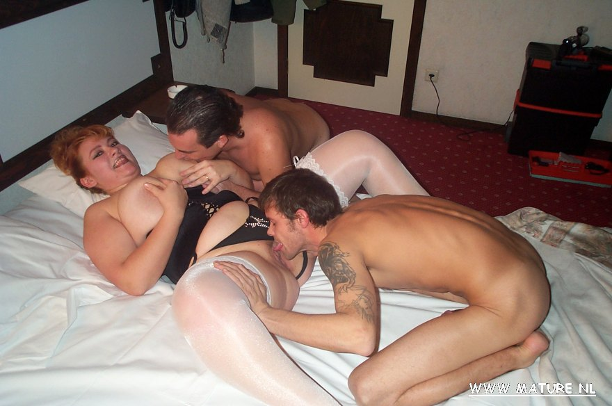 Slut fucked by multiple guys