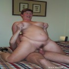 This horny big titted mature slut sure loves them cocks