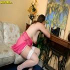 slutty mature dressed in pink