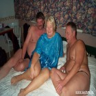 Kinky mature threesome with a chubby mature