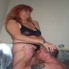 Horny mature couple caught doing tha nasty