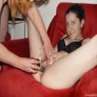 3 horny mature lebians and one kinky teen at play