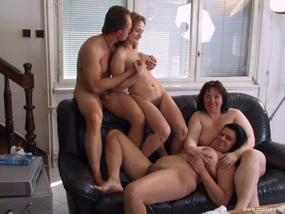 Mature nudist party