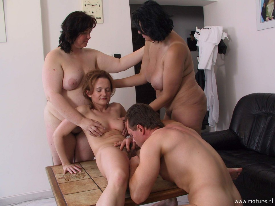 Mature movie threesome