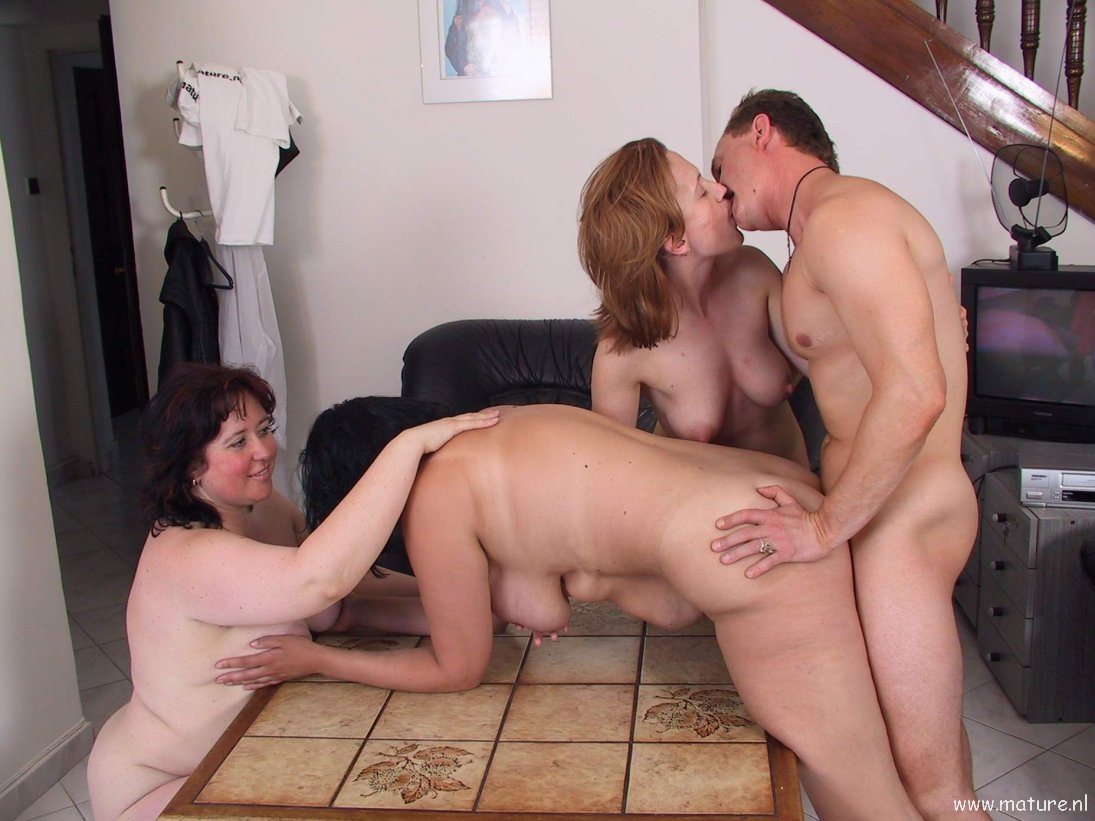 Homemade mature swinger party