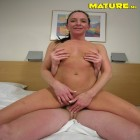 Horny mature bitch loving that big hard cock