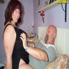 Mature couple fucking hard and kinky