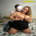 Big titted housewife fucked by a masked man
