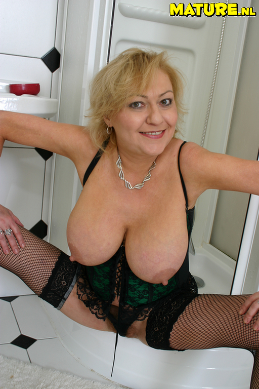 Big titted mature business lady dana double dicked 5