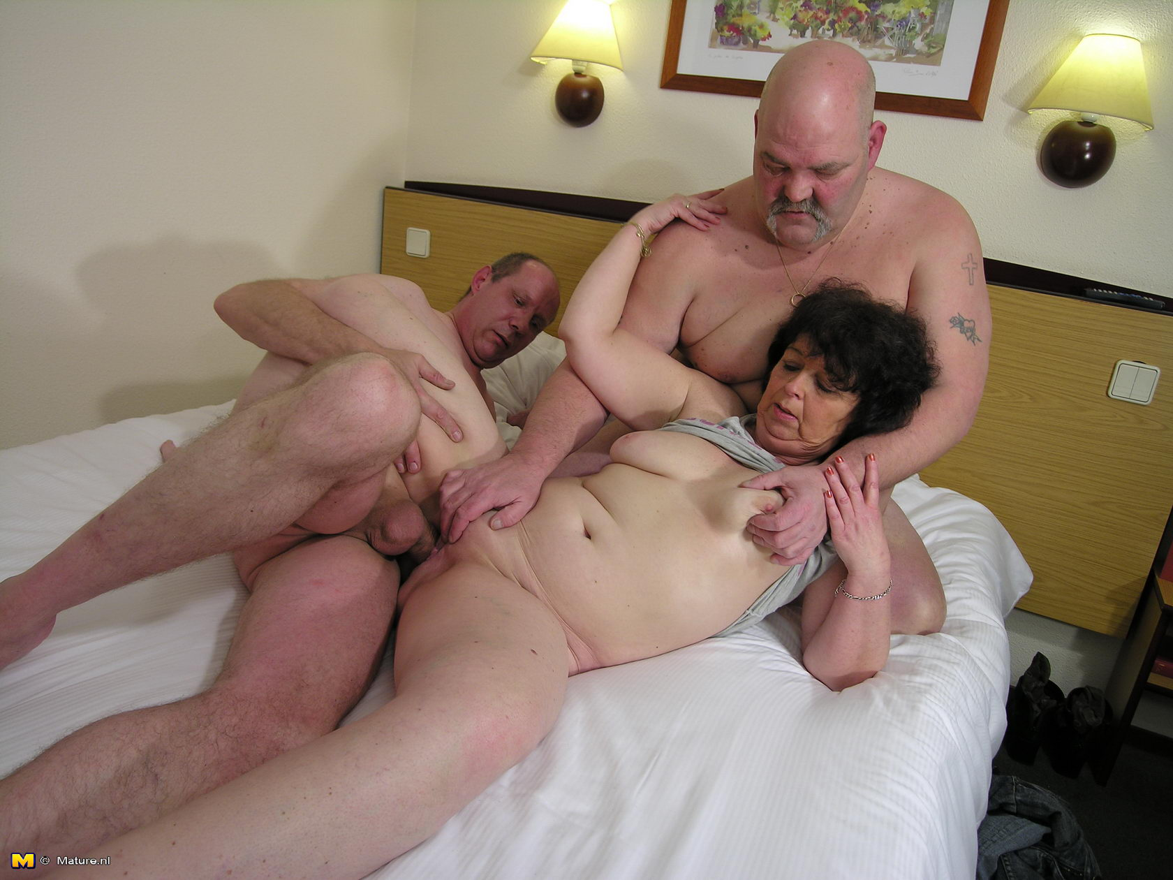 Two mature granny takes big cock remarkable