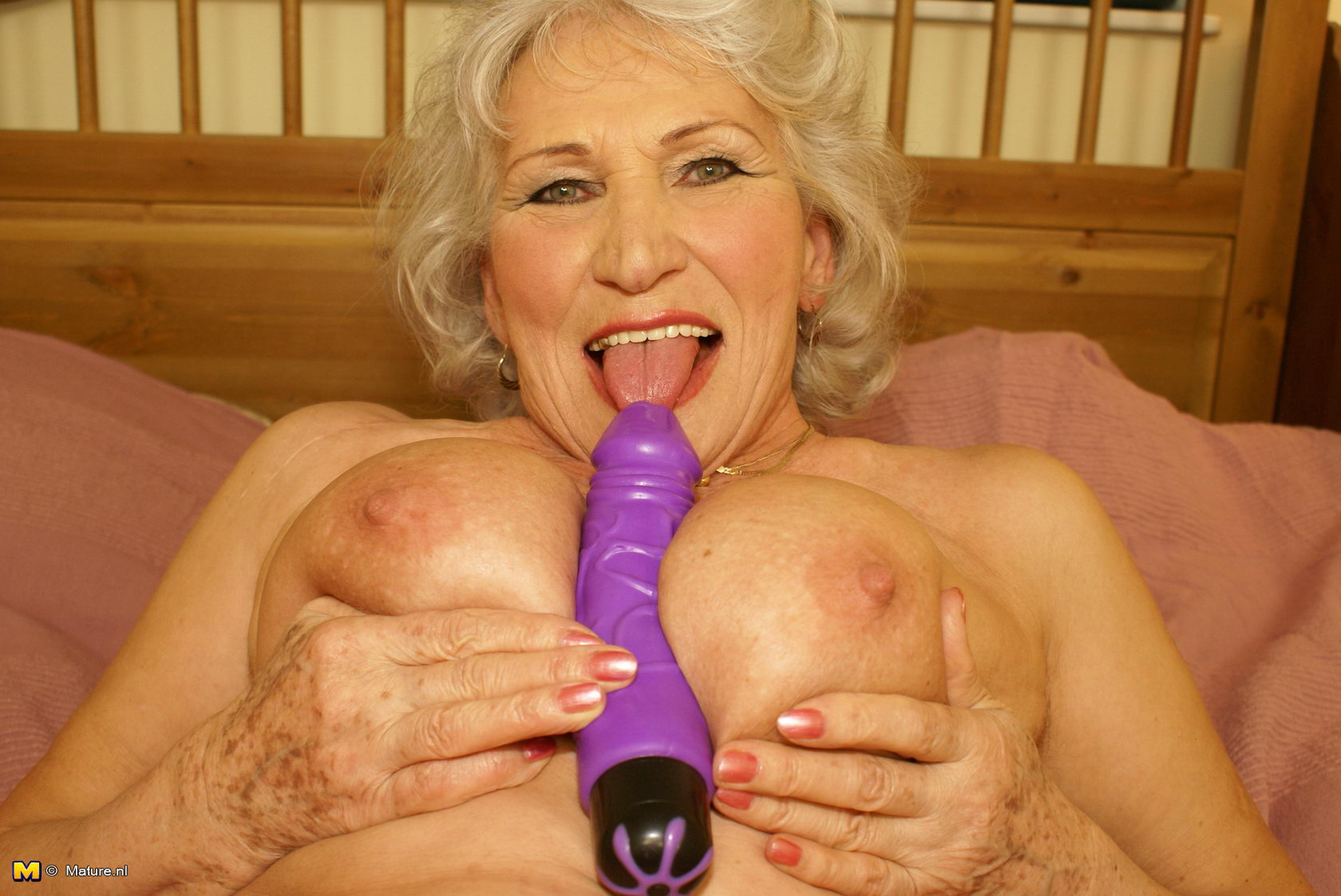 Improbable! Granny loves to get nasty opinion