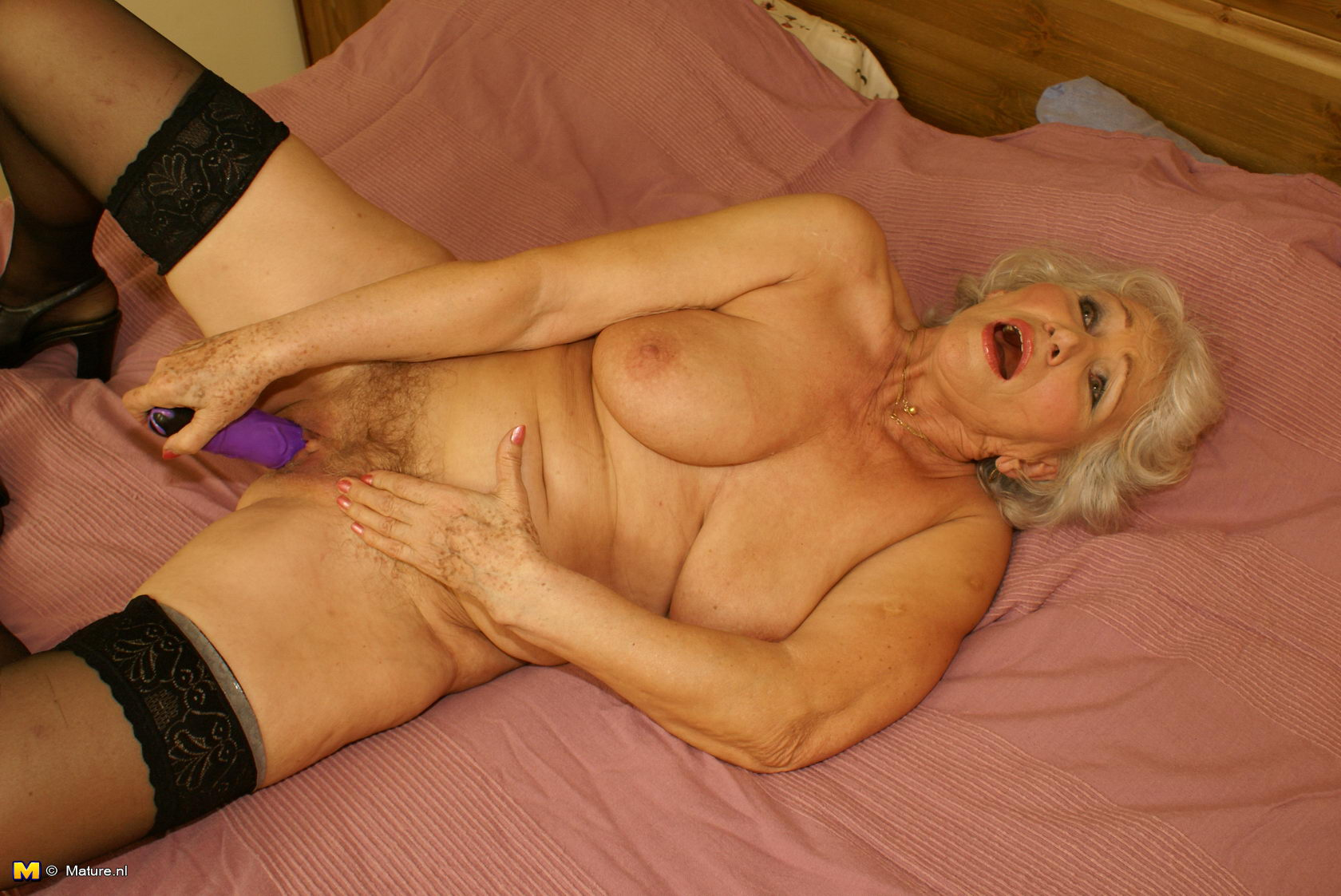 To get nasty granny loves