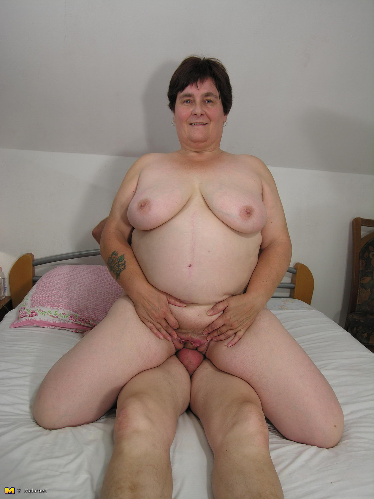 72 year old grandma craves big black cock 2