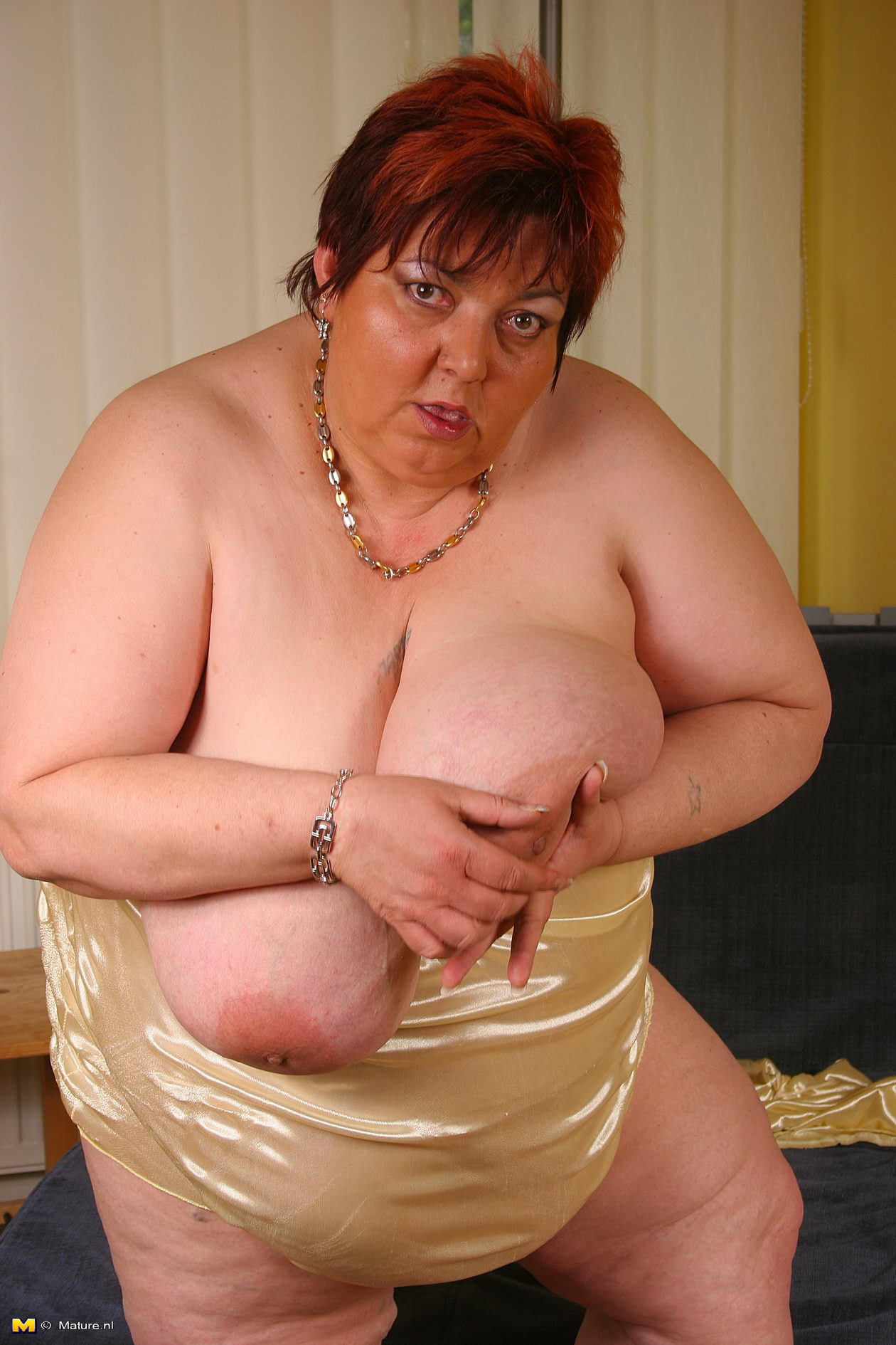 English mature and plump