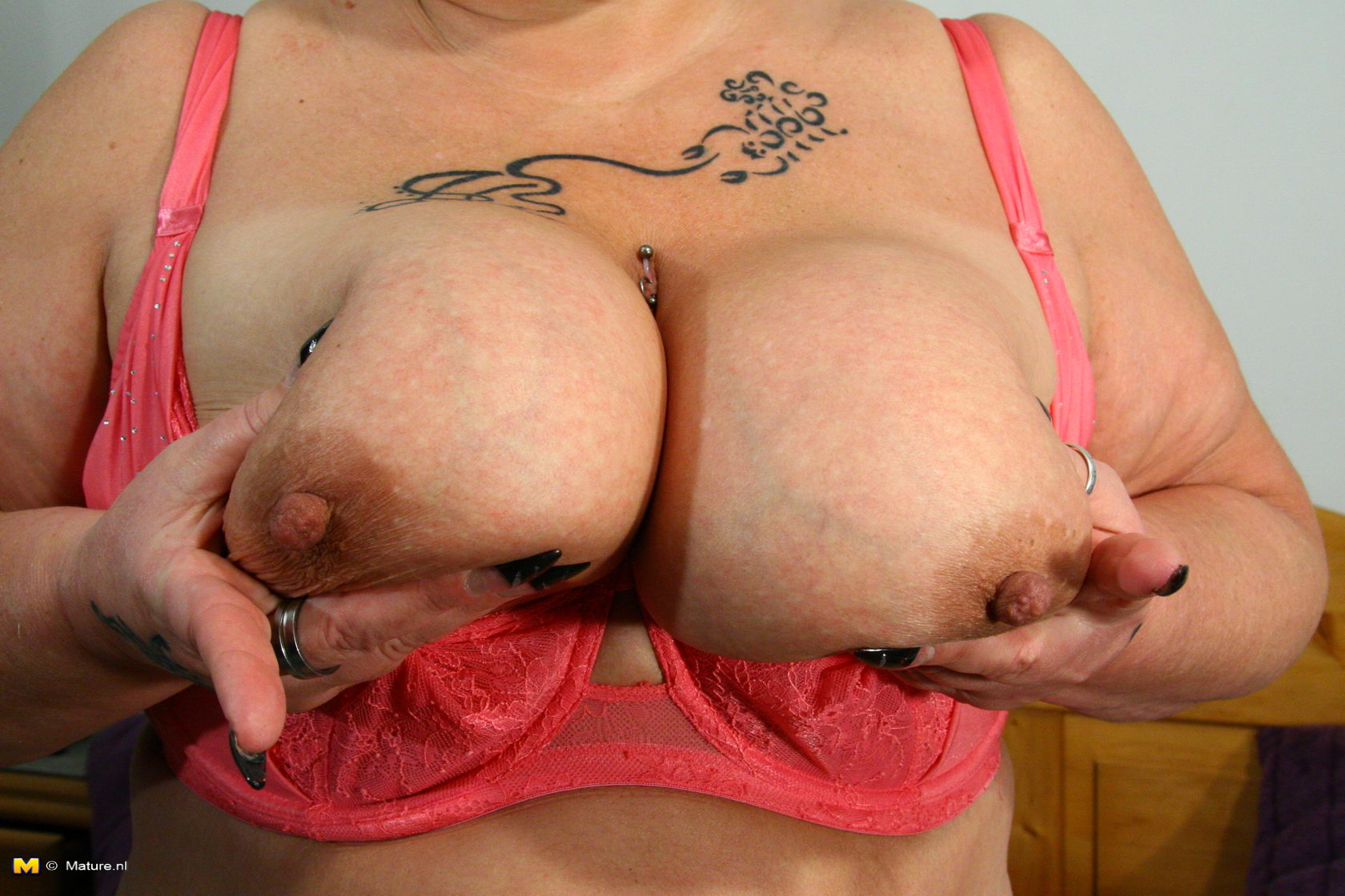 Big boobs getting played with pov 4