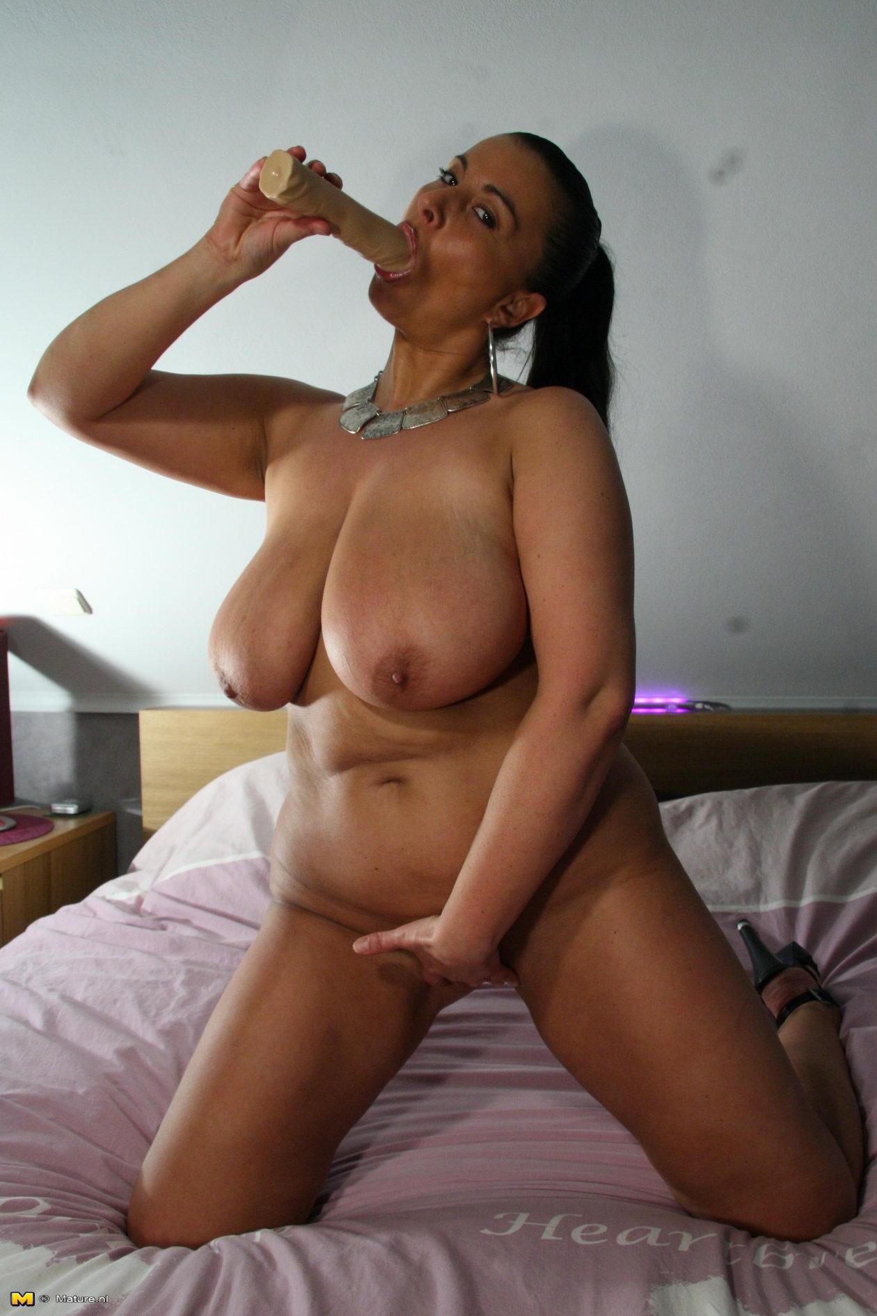 Big black tits pov