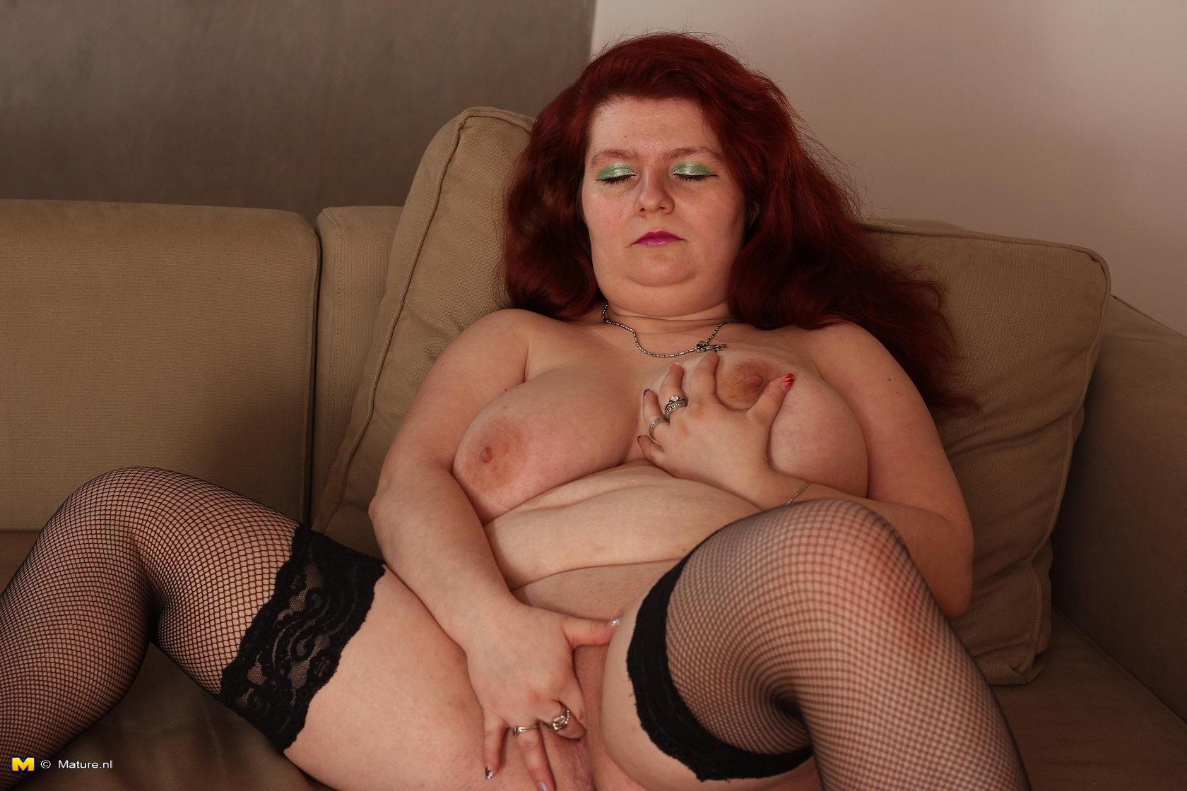 naked large breasted slut