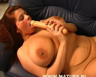 holy crap this mature has big tits
