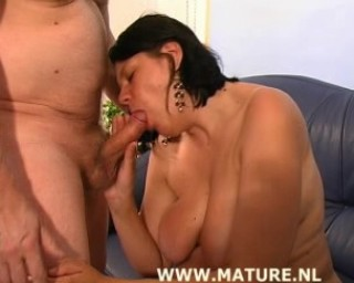 love slave sucks hard dick