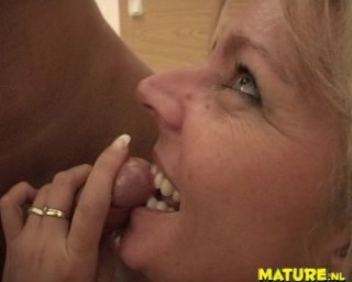 The Mature horny blonde slut sucking and fucking opinion you
