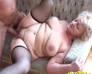 Granny loves the taste of cock in her mouth