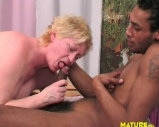loving the taste of cock