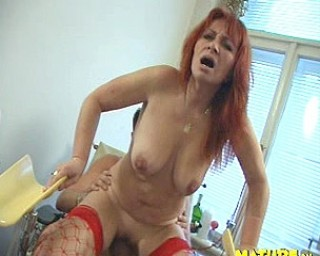 This doctor exams a horny mature slut