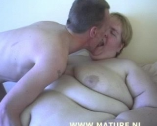 fat as a whale and hungry for cock