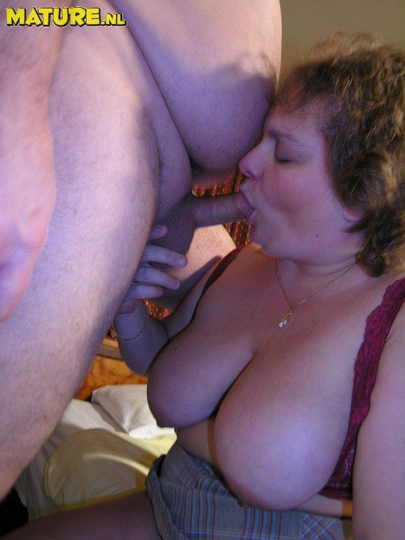 Old chubby couple sex