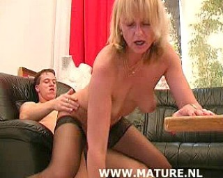 This horny housewife likes to get fucked hard