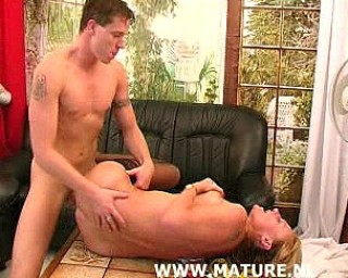 Fuck that mature cunt hard and kinky