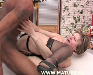 This mature whore loves a big black cock