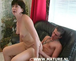 Fuck that hairy mature cunt hard