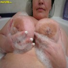 Chubby mature cunt playing with herself