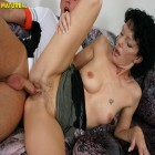 Hot mature slut fucking and sucking like a pro