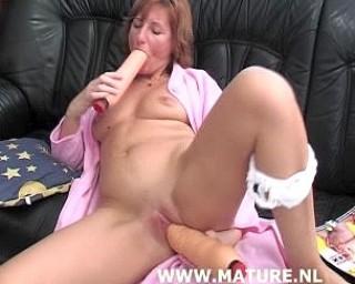 This mature slut loves a big black cock