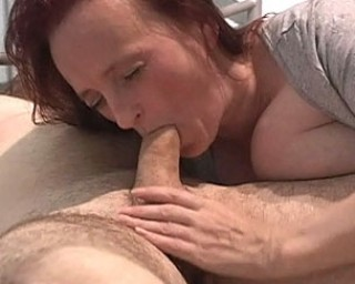 This mature big titted slut loves the cock