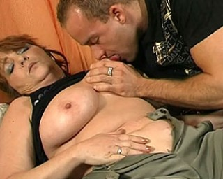 Get that big mature slut rocking and fucking