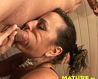 This MILF just craves a hard throbbing cock