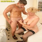 The doctor has some special interrest in this mature slut